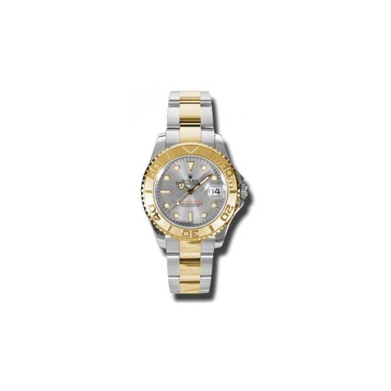 Rolex Watches  YachtMaster MidSize Steel and Gold
