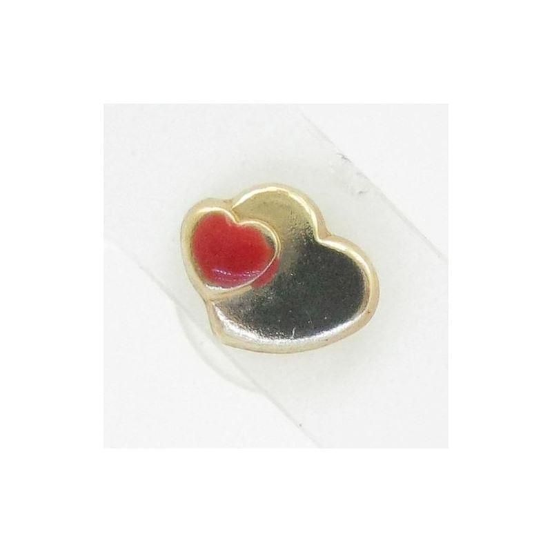 14K Gold Earrings heart star flower dolp 64233 1