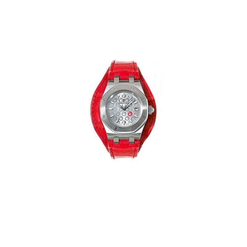 Audemars Piguet Royal Oak Steel Red 6761 54932 1
