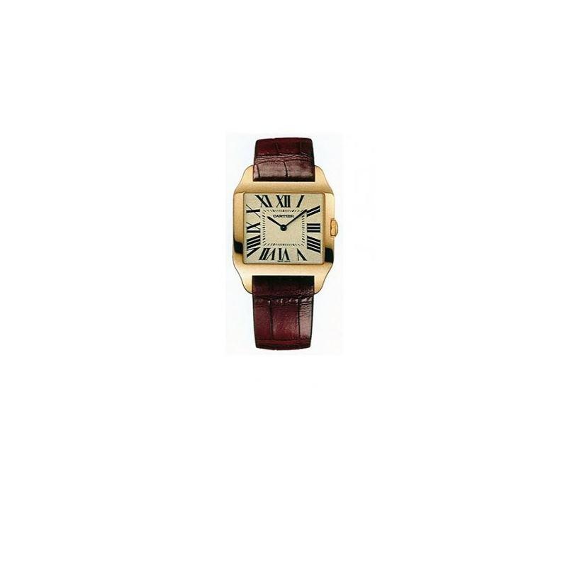 Cartier Santos Dumont Yellow Gold Unisex Watch W20