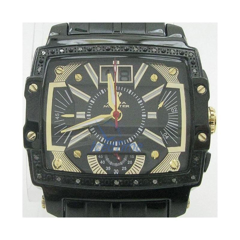 Mens Aqua Master Iced Out Diamond Watch W329AQ4