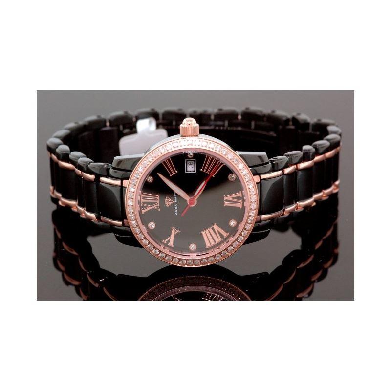 Aqua Master Ladies Classic Diamond Watch 55791 1