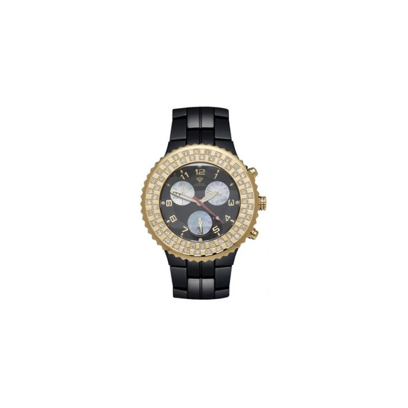 Aqua Master Unisex Ceramic Diamond Watch 12-5W