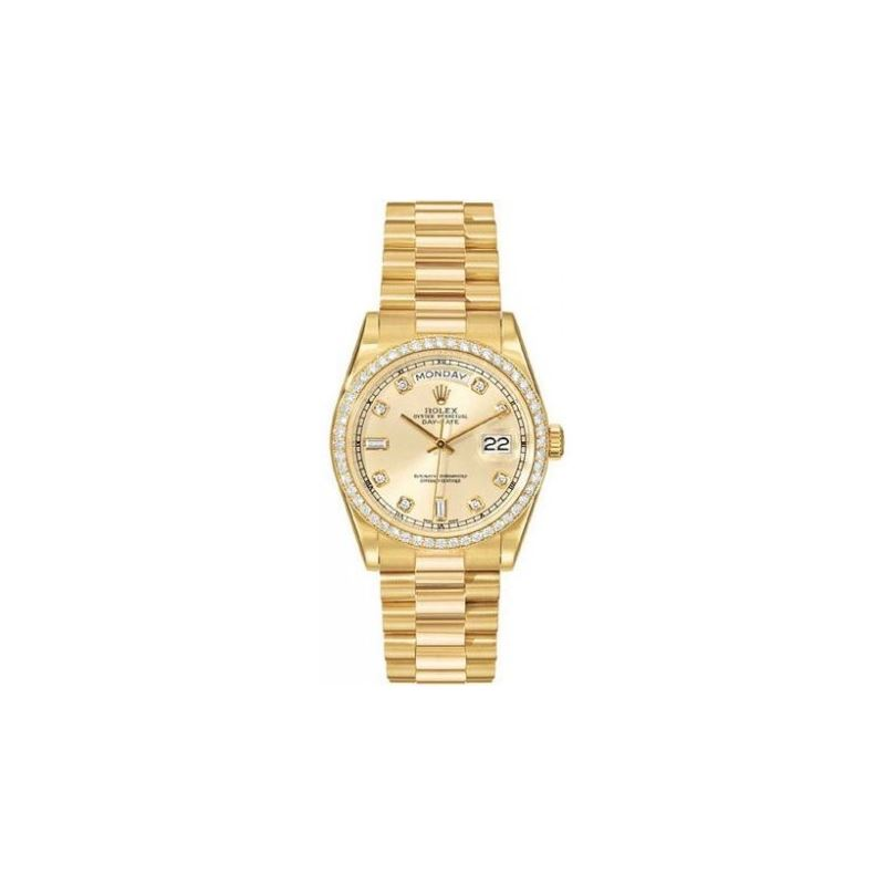 Rolex Oyster Perpetual Day-Date 18kt Yellow Gold D