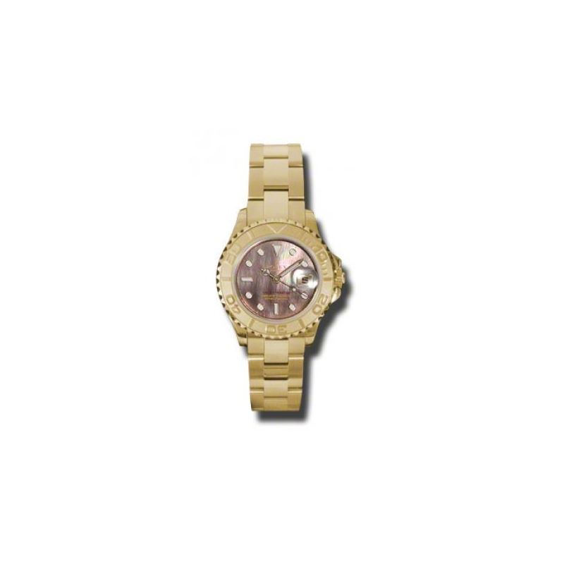 Rolex Watches  YachtMaster Lady Gold 169628 dkm