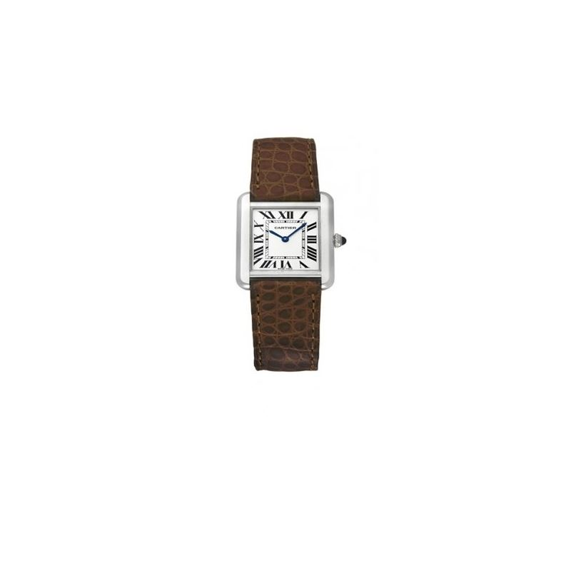 Cartier Tank Solo Steel Small Ladies Watch W101825
