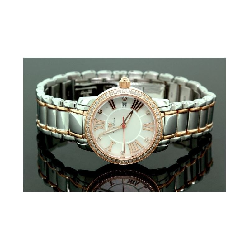 Ladies Classic Diamond Aqua Master Watch 55797 1
