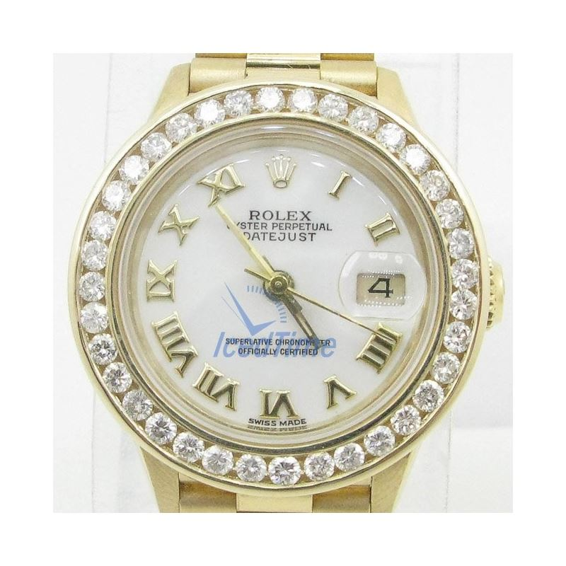 Rolex Datejust Mother of Pearl Dial Automatic Yell