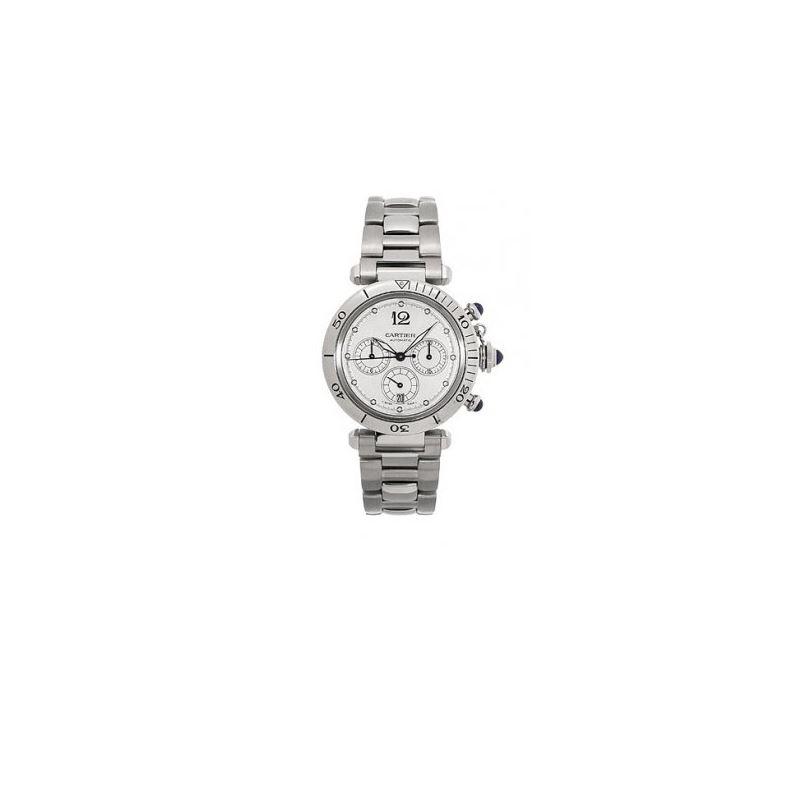 Cartier Pasha Chronograph Automatic Mens Watch W31