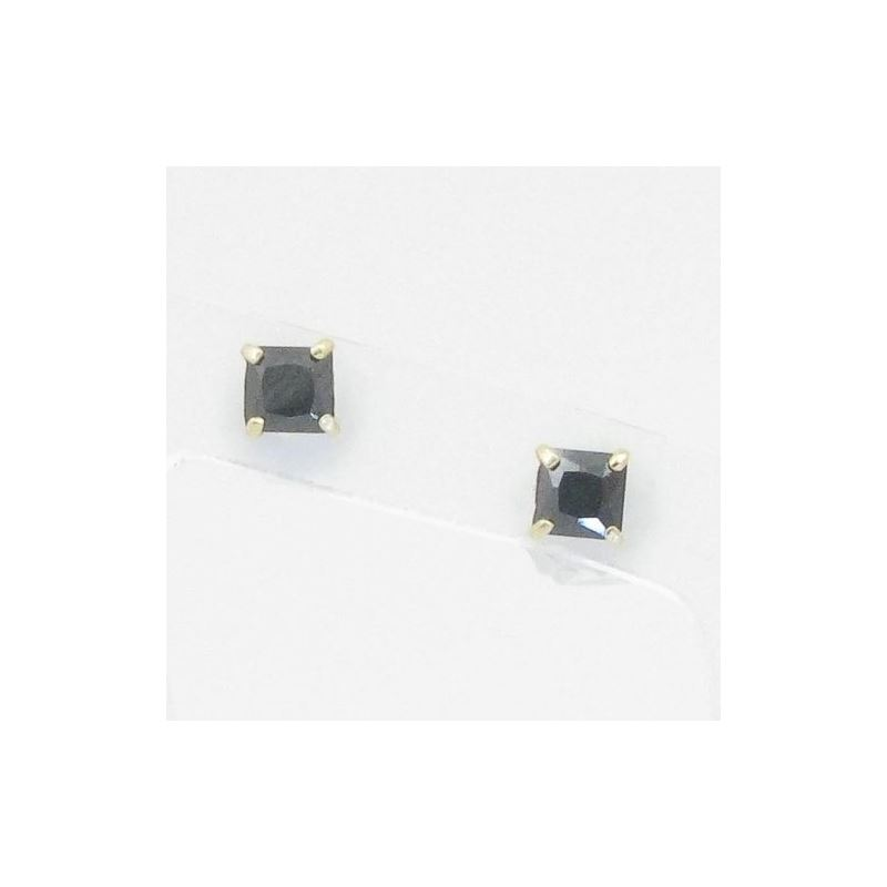 Unisex 14K solid gold earrings fancy stu 82252 1