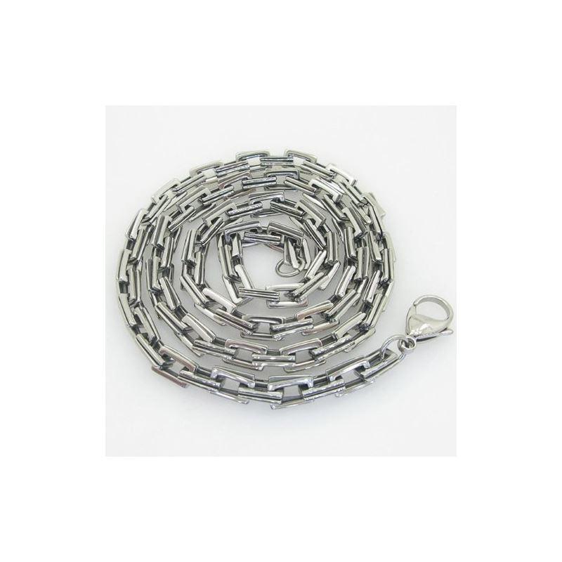 Mens 316L Stainless steel franco box bal 88155 1