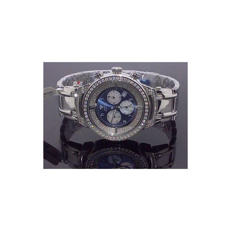 Mens 4.25Ctw Diamond Watch - W97B