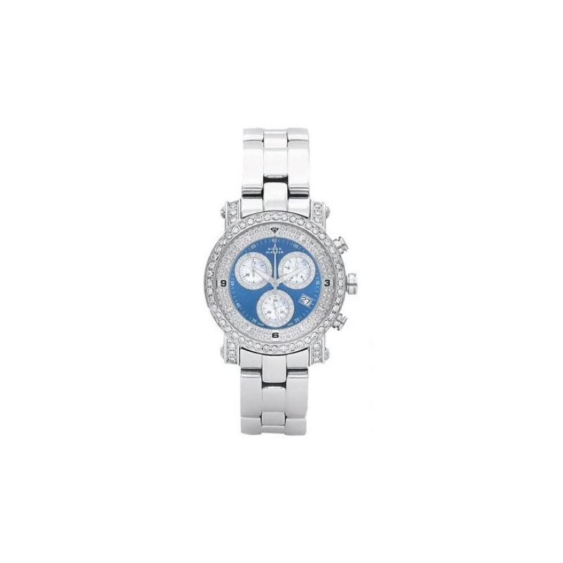 Aqua Master Mens Signature Diamond Watch 11-4W #10