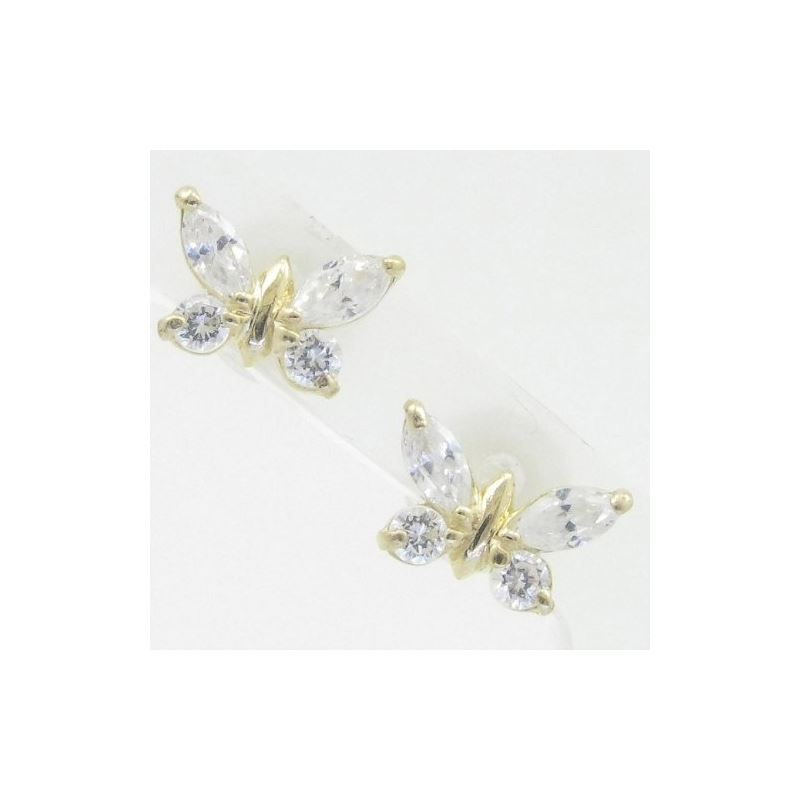 14K Gold Earrings heart star flower dolp 63572 1