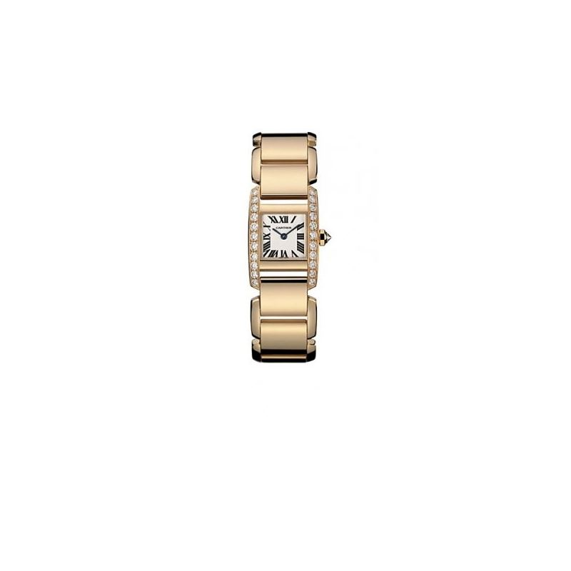 Cartier Tankissime Diamond 18kt Rose Gol 55070 1