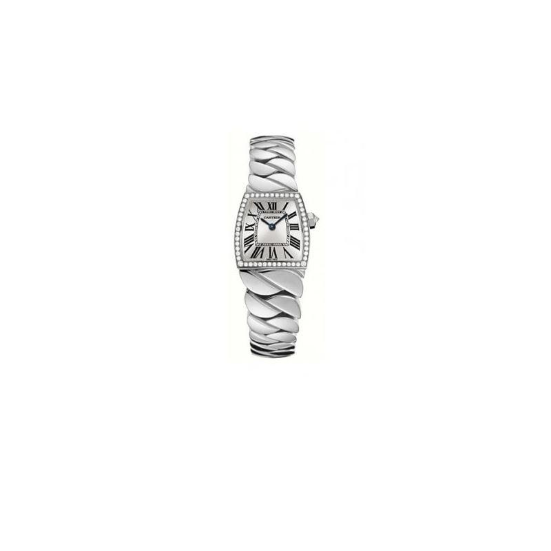 Cartier La Dona Diamond 18kt White Gold Ladies Wat