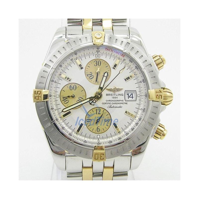 Breitling Chronomat Evolution Silver Dial Chronogr