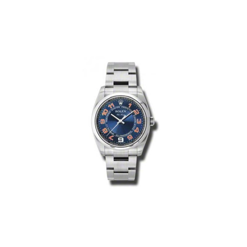 Rolex Watches  AirKing Domed Bezel 114200 blcao