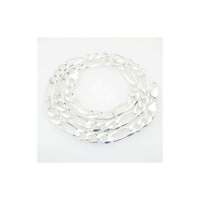 Figaro link chain Necklace Length - 20 i 73180 1