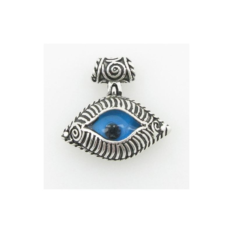 womens bp132 kabbalah evil eye .925 Sterling Silve