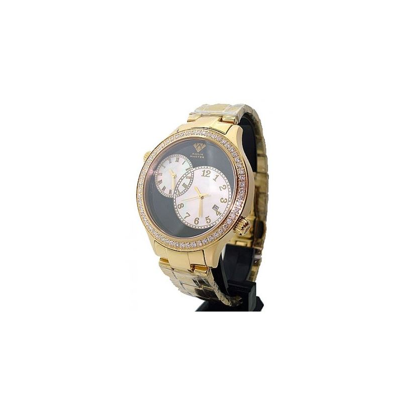 Aqua Master 2.45ctw Mens Diamond Watch AM06