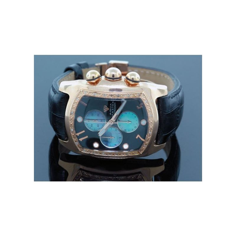 Aqua Master Mens Diamond Watch 96-58 54566 1