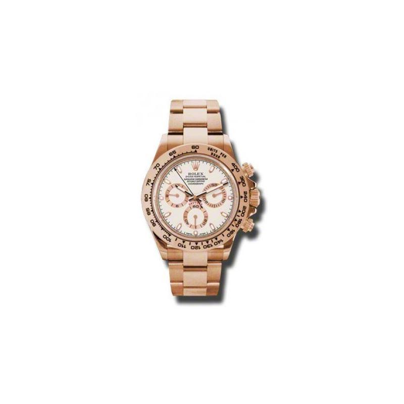 Rolex Watches  Daytona Everose Gold  Bracelet 1165