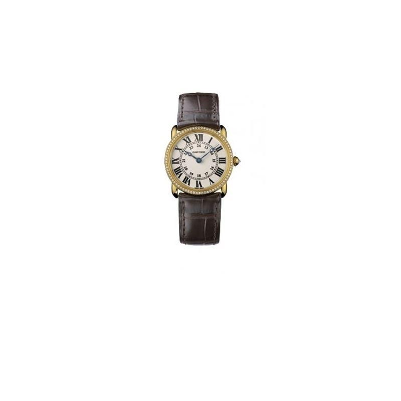 Cartier Ronde Louis Unisex Gold Watch WR000151