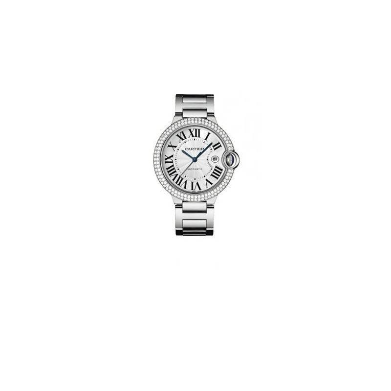 Cartier Ballon Bleu Mens Gold Watch WE9009Z3