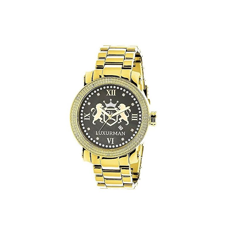 Phantom Mens Large Real Diamond Watch Ye 91026 1