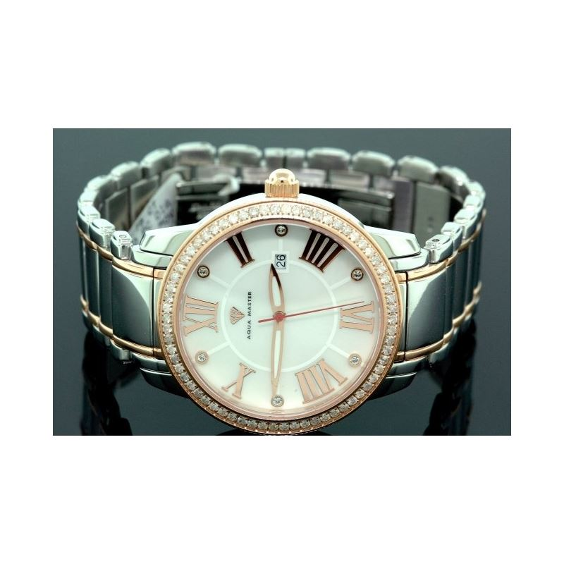 Aqua Master Mens Classic Diamond Watch W320e