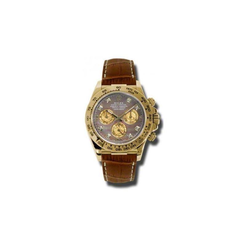 Rolex Watches  Daytona Yellow Gold  Leat 54181 1