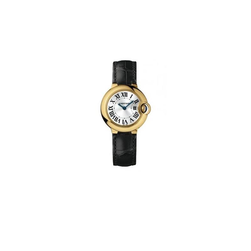 Cartier Ballon Bleu Ladies Gold Watch W6900156