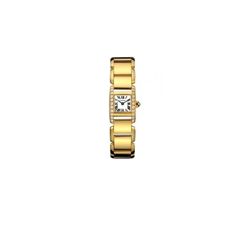 Cartier Tankissime 18kt Yellow Gold Diam 55071 1