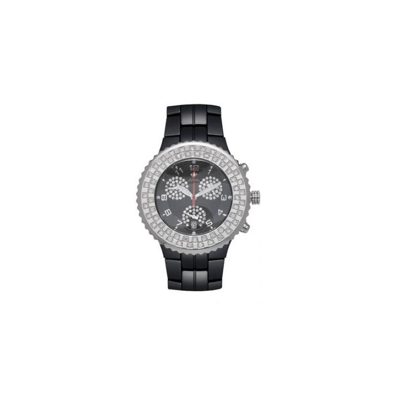 Aqua Master Unisex Ceramic Diamond Watch 12-2W