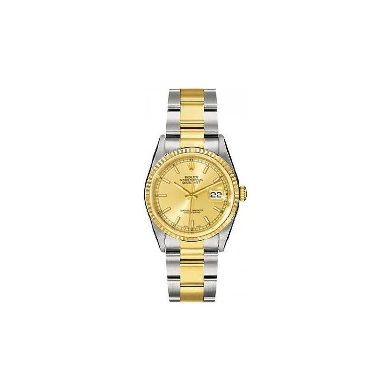 Rolex Oyster Perpetual Datejust Two-Tone 18kt Gold