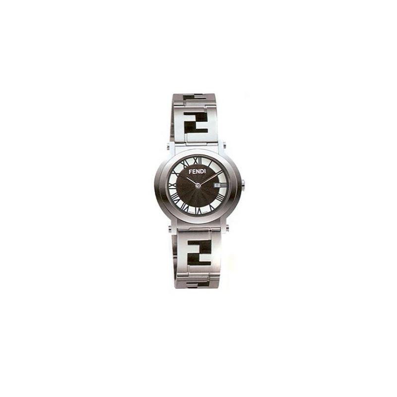 FENDI Round Quadro Mens Watch F615110 53631 1