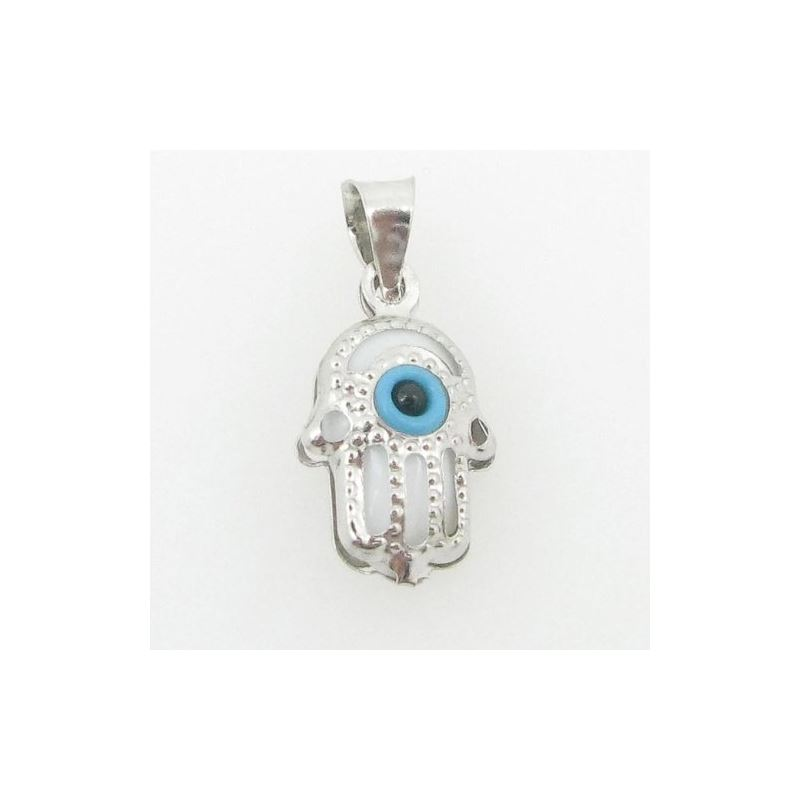 womens bp130 kabbalah evil eye .925 Sterling Silve