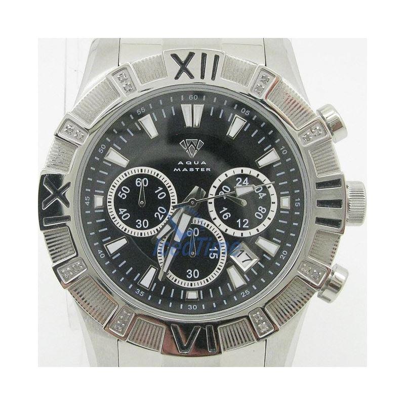 Mens Aqua Master Iced Out Diamond Watch W333AQ1