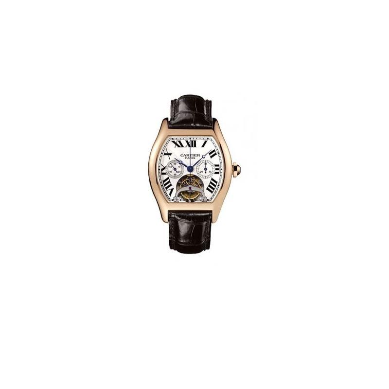 Cartier Tortue Tourbillon Limited Edition 18kt Ros