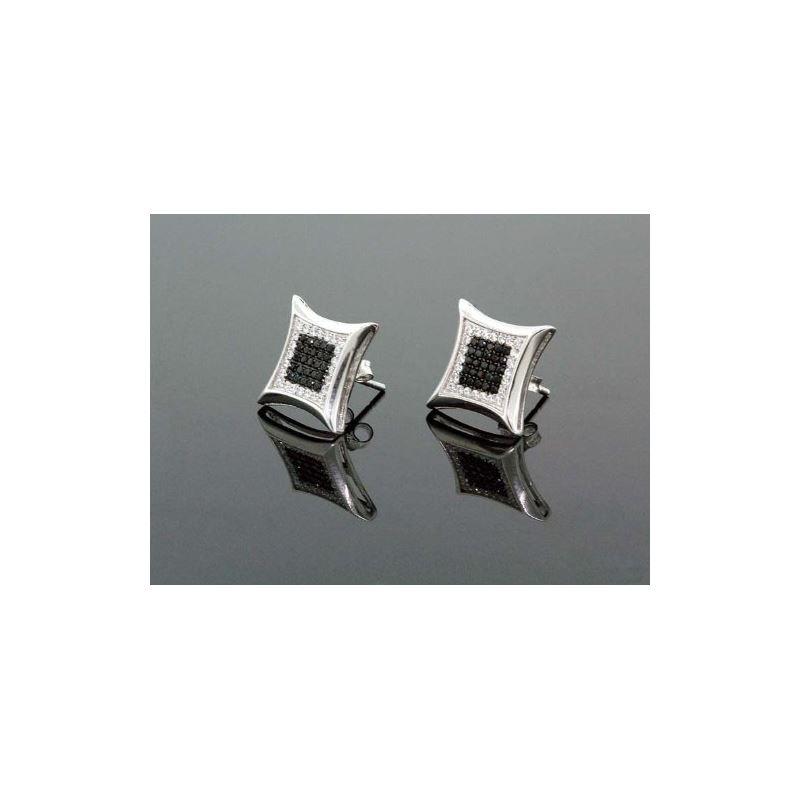 .925 Sterling Silver Unisex Earrings Fancy NEW!!!