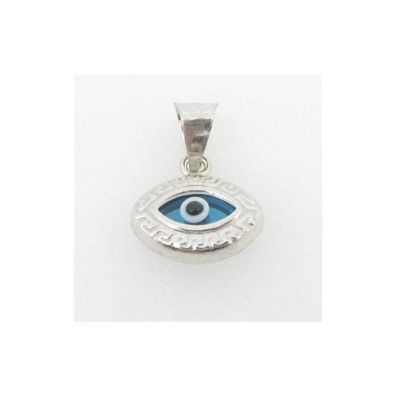 womens bp147 kabbalah evil eye .925 Sterling Silve