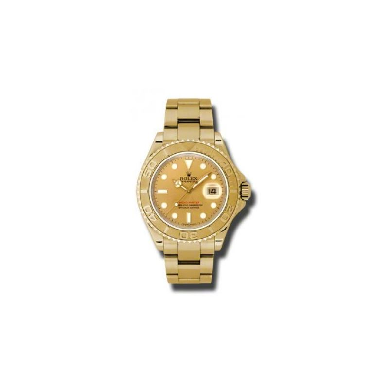 Rolex Watches  YachtMaster Mens Gold 16628 ch