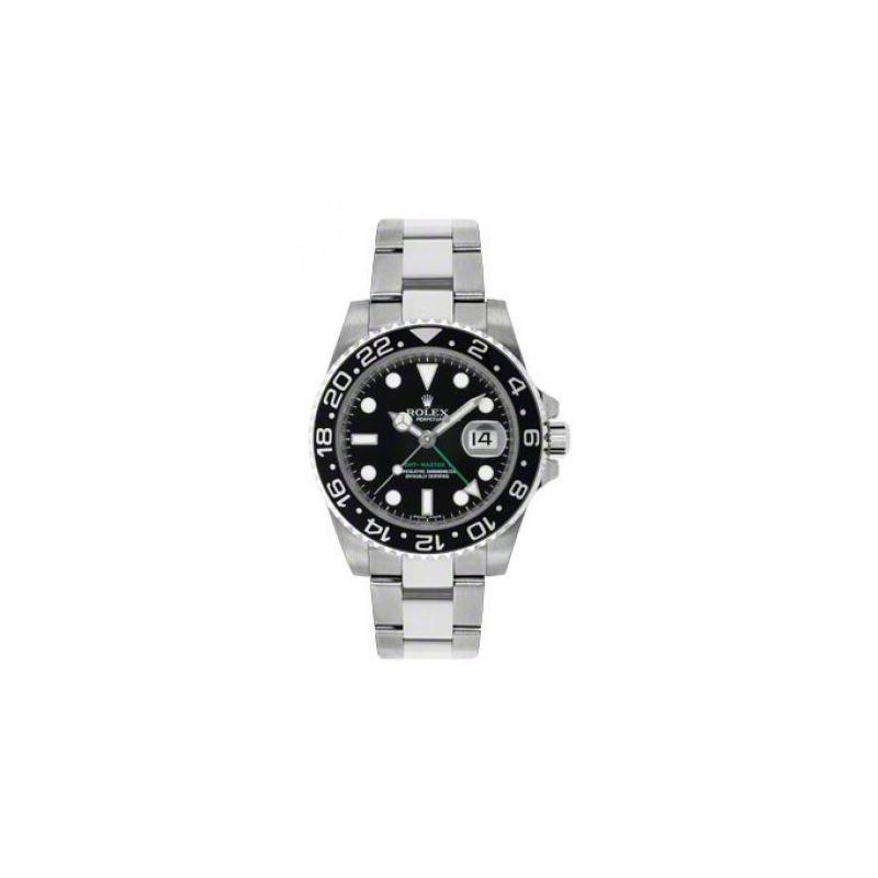 Rolex Watches  GMTMaster II Steel 116710LN