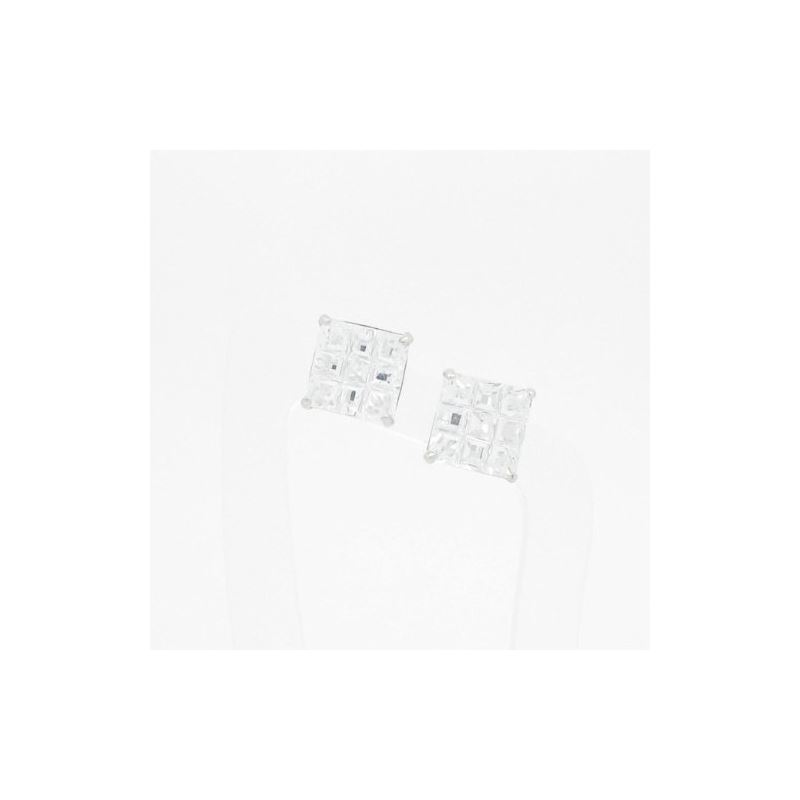 Unisex 14K solid gold earrings fancy stu 81491 1