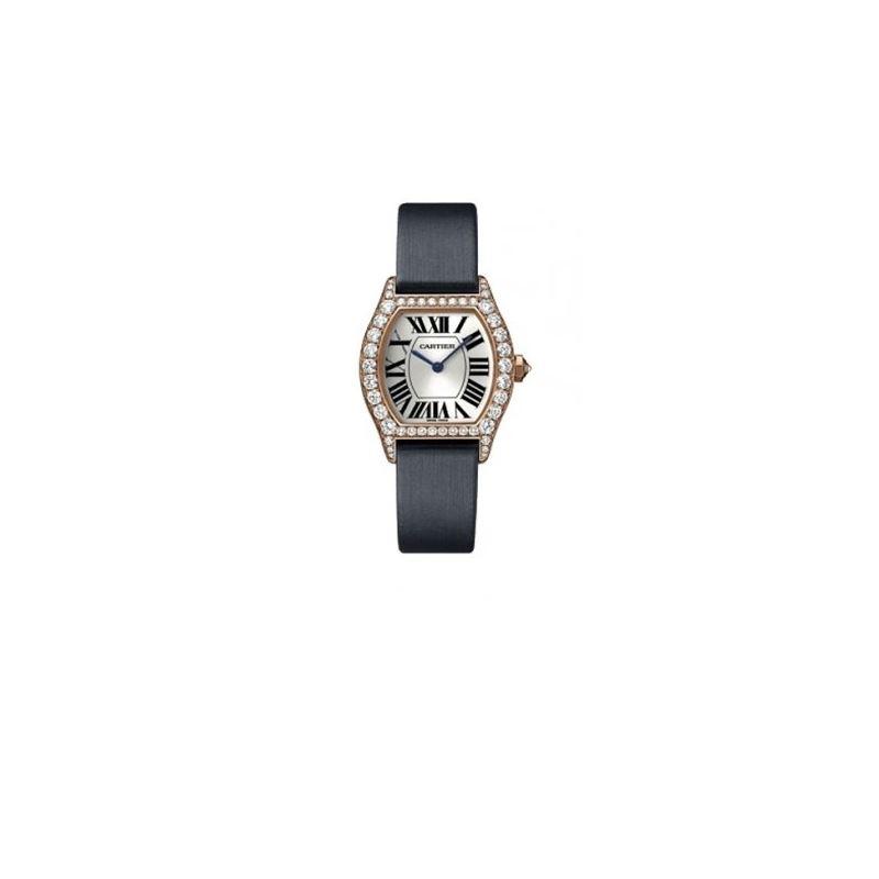 Cartier Tortue Francaise Solid 18K Rose Gold Diamo
