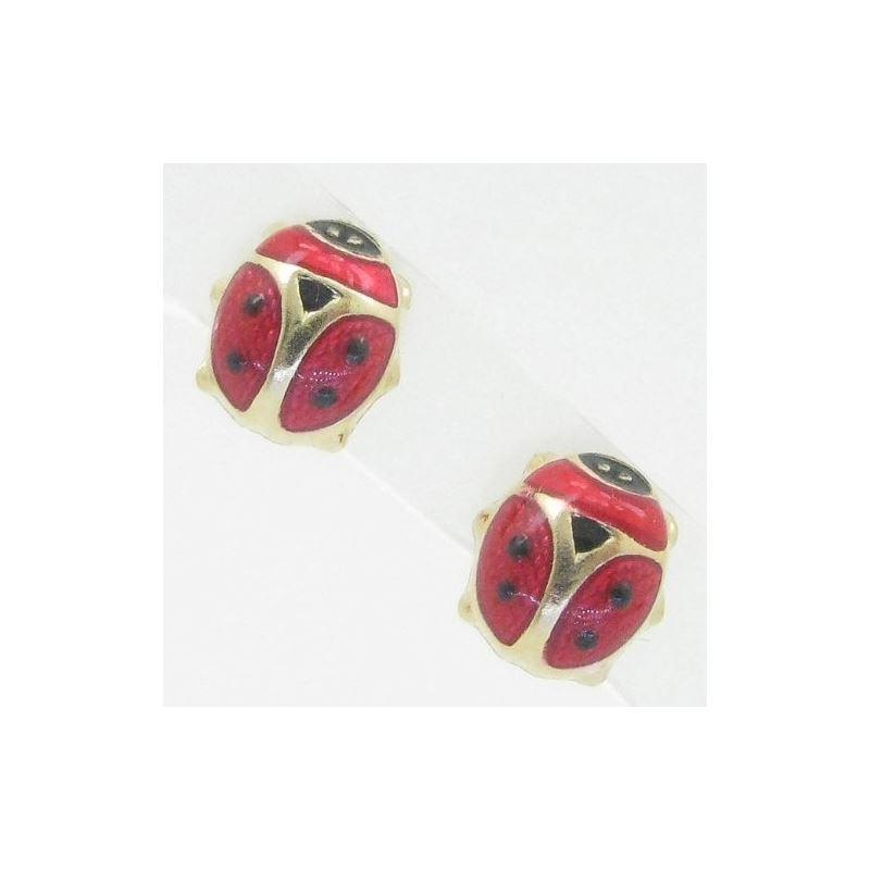 14K Gold Earrings heart star flower dolp 64203 1