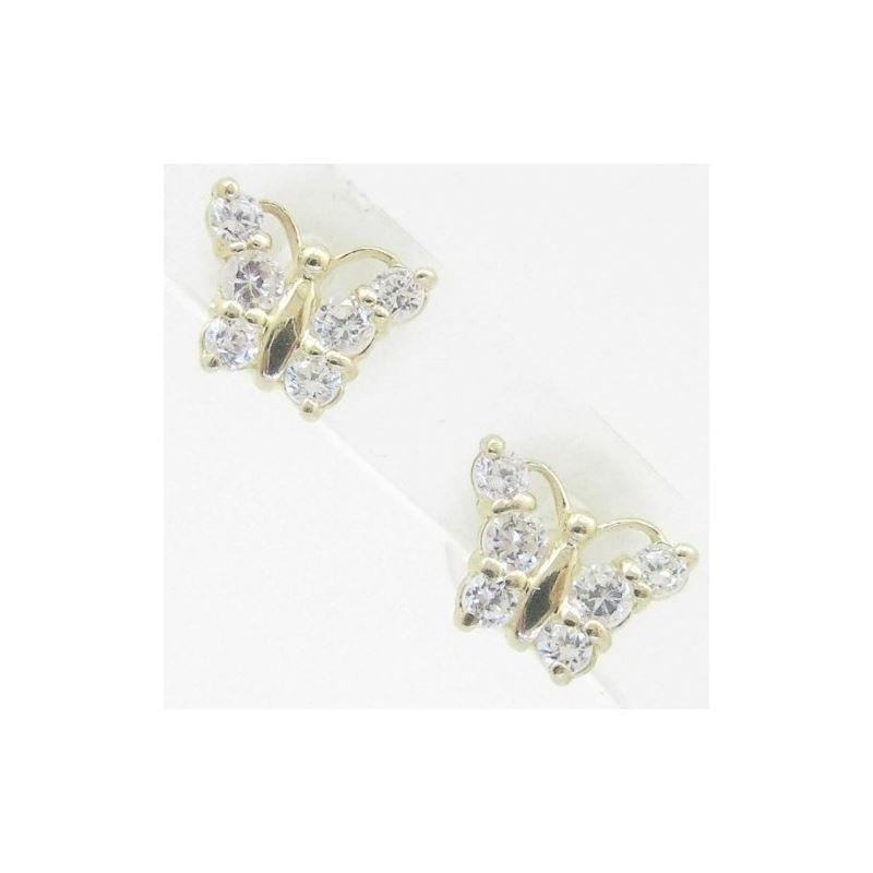 14K Gold Earrings heart star flower dolp 63793 1