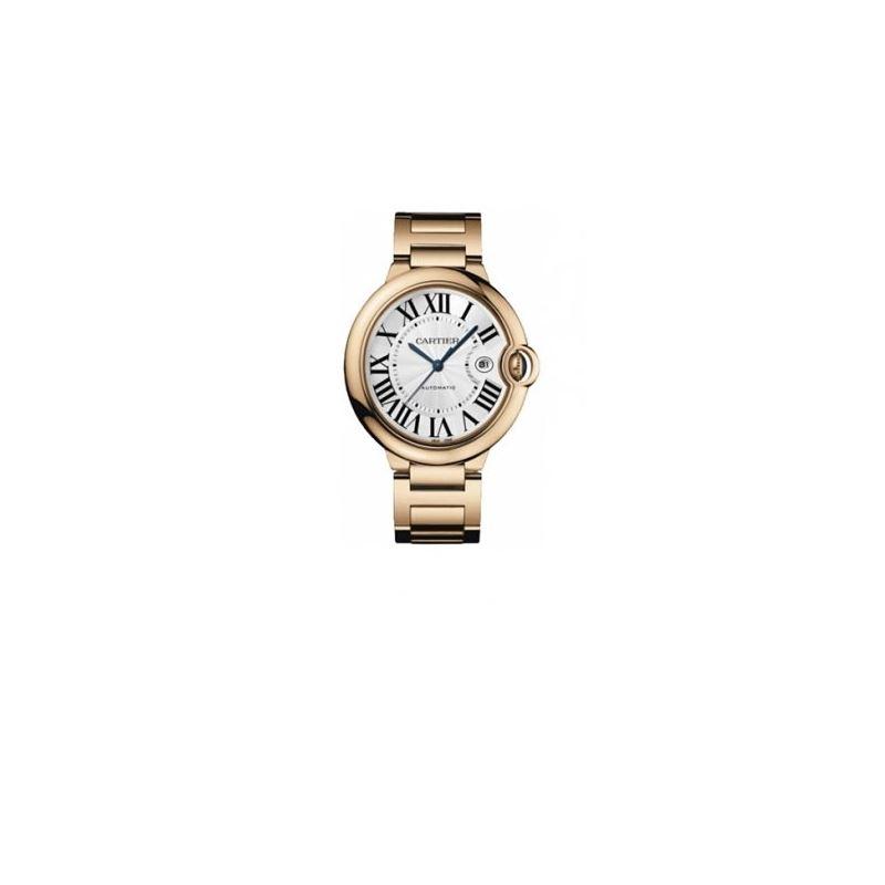 Cartier Ballon Bleu Large Mens Wristwatch W69006Z2