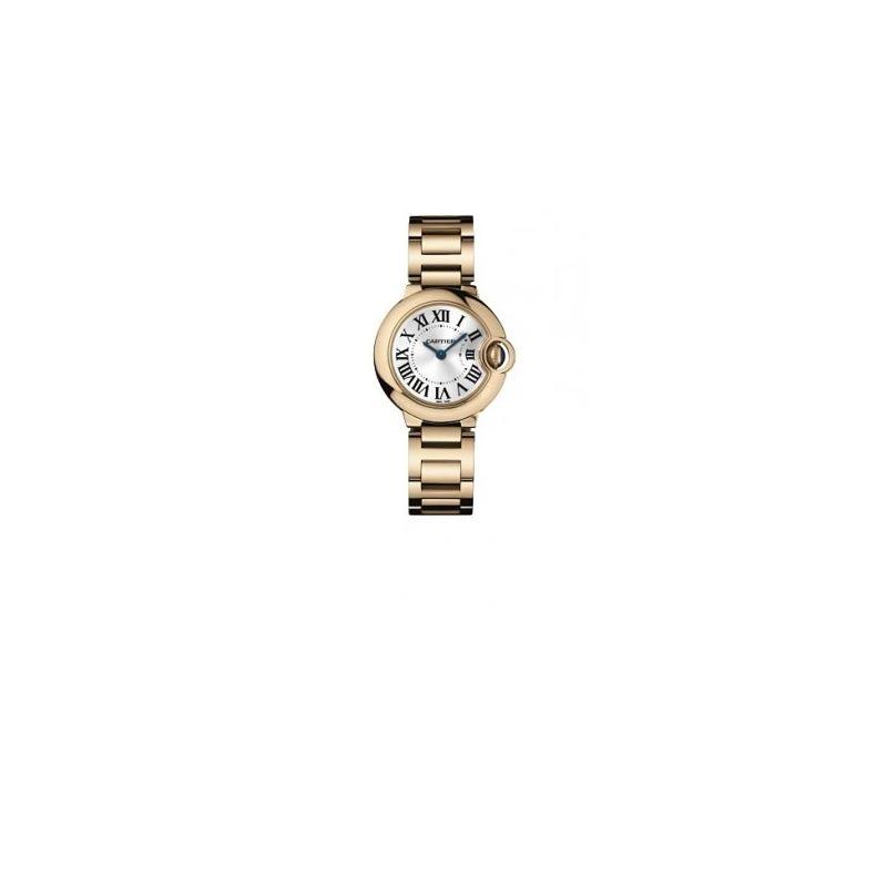 Cartier Ballon Bleu Polished 18K Rose Go 55120 1